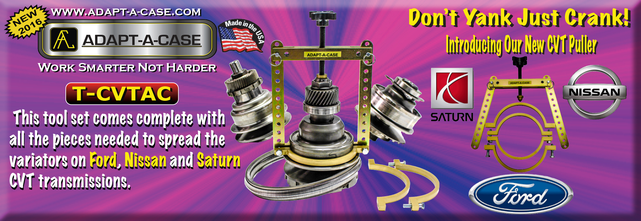 CVT Puller for Ford, Nissan, and Saturn